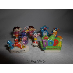 Fèves - Dora l'exploratrice - Série Complète