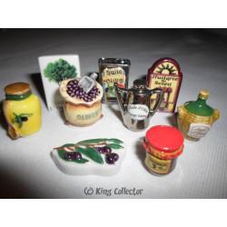 Fèves - Huile d'olive - Série Complète