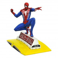 Figurine - Marvel Gallery - Spider-Man on Taxi (Video Game) - Diamond Select