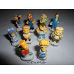Fèves - La Récré des Simpson - Brillant - Série Complète
