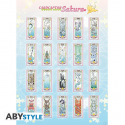Poster - Cardcaptor Sakura - Cartes - 52 x 38 cm - ABYstyle