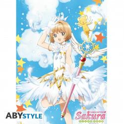 Poster - Cardcaptor Sakura - Sakura & Sceptre - 52 x 38 cm - ABYstyle
