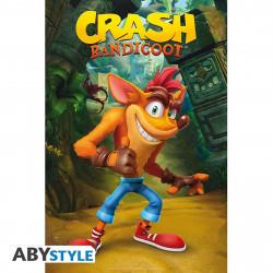 Poster - Crash Bandicoot - Crash classique - 91.5 x 61 cm - ABYstyle