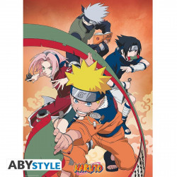 Poster - Naruto Shippuden - Equipe 7 - 52 x 38 cm - ABYstyle