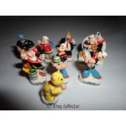 Fèves - Popeye 2006 - Série Complète