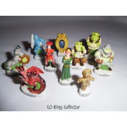 Fèves - Shrek - Brillant - Série Complète