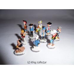 Fèves - Lucky Luke - Brillant - Série Complète