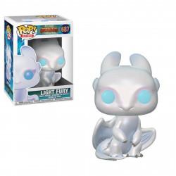 Figurine - Pop! Movies - Dragons 3 - Light Fury - N° 687 - Funko