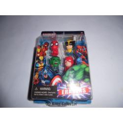 Pack de 4 Gommes - Marvel - Set B - Marvel Universe Erasers - Monogram