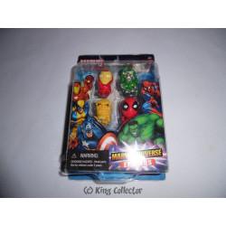 Pack de 4 Gommes - Marvel - Set C - Marvel Universe Erasers - Monogram