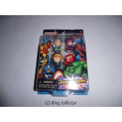 Pack de 4 Gommes - Marvel - Set D - Marvel Universe Erasers - Monogram