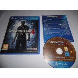 Jeu Playstation 4 - Uncharted 4 : A Thief's End - PS4
