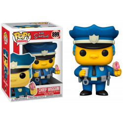 Figurine - Pop! TV - The Simpsons - Chief Wiggum - N° 899 - Funko