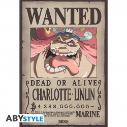 Poster - One Piece - Wanted Charlotte Linlin - 52 x 35 cm - ABYstyle