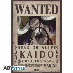 Poster - One Piece - Wanted Kaido - 52 x 35 cm - ABYstyle