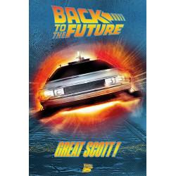 Poster - Retour vers le Futur - Great Scott! - 61 x 91 cm - Pyramid International