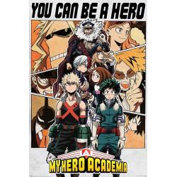 Poster - My Hero Academia - Be a Hero - 61 x 91 cm - Pyramid International