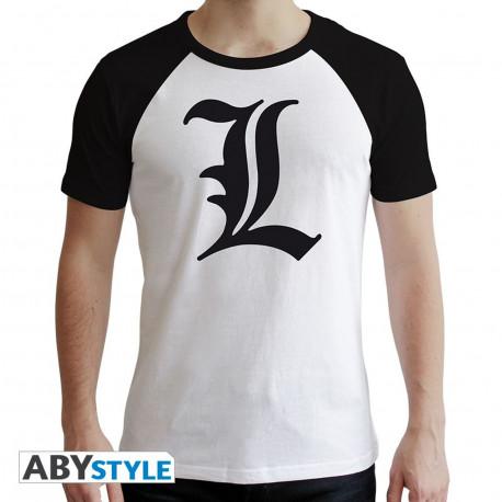 T-Shirt - Death Note - L Symbole - ABYstyle