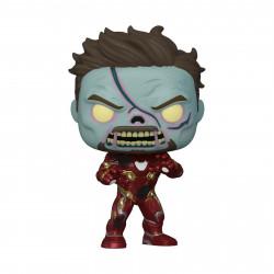 Figurine - Pop! Marvel - What If...? - Zombie Iron Man - N° 944 - Funko