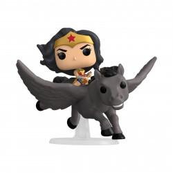 Figurine - Pop! Rides - Wonder Woman - 80th on Pegasus - N° 280 - Funko