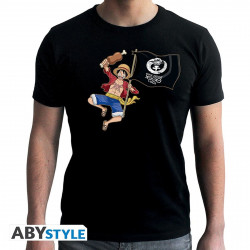 T-Shirt - One Piece - Luffy 1000 Logs - ABYstyle