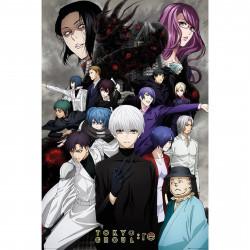 Poster - Tokyo Ghoul - RE Key Art 3 - 91.5 x 61 cm - GB Eye