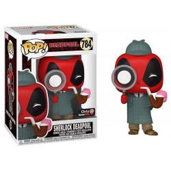 Figurine - Pop! Marvel - Deadpool - Sherlock Deadpool - N° 784 - Funko