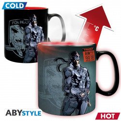 Mug / Tasse - Metal Gear Solid - Thermique - Solid Snake - 460 ml - ABYstyle