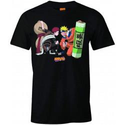 T-Shirt - Naruto Shippuden - Gaara Black - Cotton Division