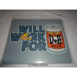 Tapis de souris - Simpson - Will work for - ABYstyle