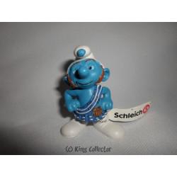 Figurine - Schtroumpfs - The Smurf - Schtroumpf téméraire - Schleich