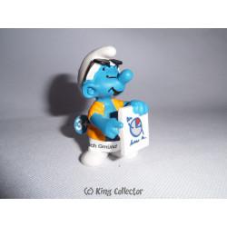 Figurine - Schtroumpfs - Entreprise - Schtroumpf marketing - Schleich