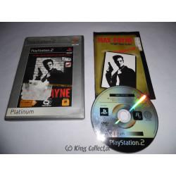 Jeu Playstation 2 - Max Payne (Platinum) - PS2