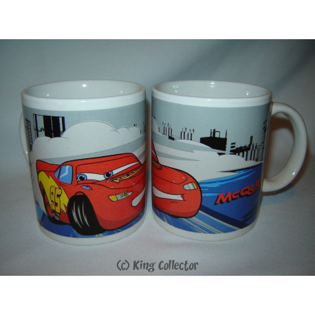 Mug / Tasse - Disney - Cars - Flash McQueen - 30 cl