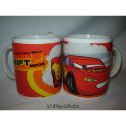 Mug / Tasse - Cars - Flash McQueen Drift Mode - 30 cl
