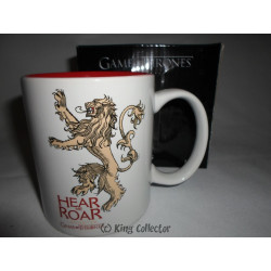 Mug / Tasse - Game of Thrones - Lannister blanc - 33 cl - SD Toys