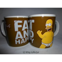 Mug / Tasse - Simpsons - Fat and Happy - United Labels