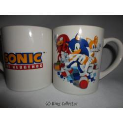 Mug / Tasse - Sonic the Hedgehog - Sonic Tails Knuckles - Easy Licences