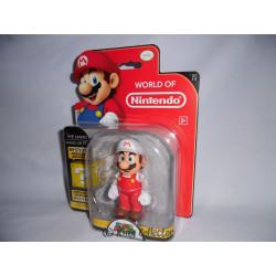 Figurine - World of Nintendo - Wave 3 - Fire Mario (Super Mario Bros.) - Jakks Pacific