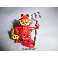 Figurine - Garfield - Diable - Plastoy