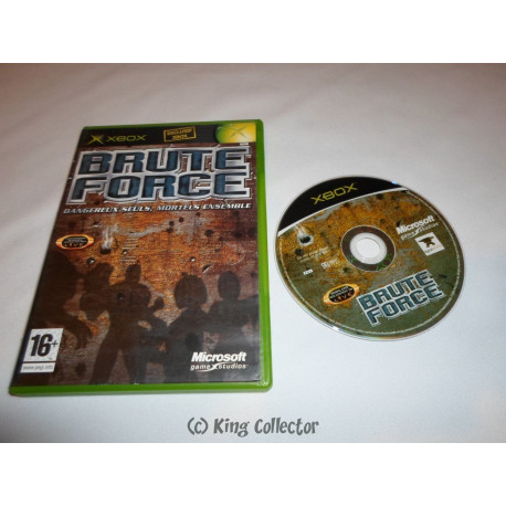 Jeu Xbox - Brute Force SN