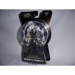 Figurine - Mortal Kombat X - série 2 - Quan Chi - Mezco Toys