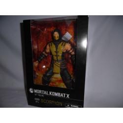 Figurine - Mortal Kombat X - Scorpion - 30 cm - Mezco Toys