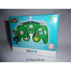 Accessoire - Wii U - Manette de Combat Luigi - Hori
