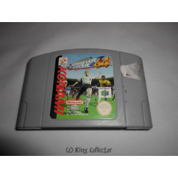 Jeu Nintendo 64 - International Superstar Soccer 64 - N64
