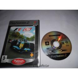 Jeu Playstation 2 - Formula One 06 (Platinum) - PS2