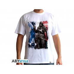 T-Shirt - Assasin's Creed Unity - AC5 Drapeau - ABYstyle