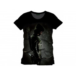 T-Shirt - DC Comics - Arrow - Profil - Cotton Division