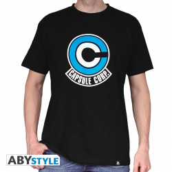 T-Shirt - Dragon Ball - Capsule Corp - ABYstyle