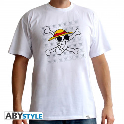 T-Shirt - One Piece - Skull Dessin de Luffy - ABYstyle